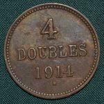 4 Doubles 1914 H