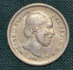 5 Cent 1850  Nizozemi Willem III