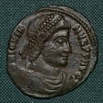 AE3  Rim  cisarstvi Jovianus