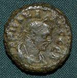 Carus Egypt Alexandria Bil tetradrachma rok 1