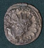 AE Antoninianus  Lugdunum Rim  cisarstvi Postumus