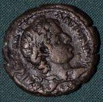 Bil tetradrachma  Elagabalus  Egypt  Alexandria