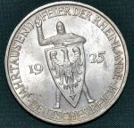 Nemecko Vymarska republika 5 Marka 1925A - A7495   antikvariat - detail numismatiky