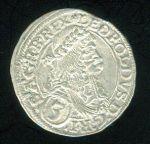 Rakousko Leopold I 1657  1705 3 Krejcar 1672 - C980 | antikvariat - detail numismatiky