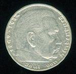 Nemecko III  rise  1933  1945  2 Marka 1936 D