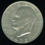 USA 1 Dollar 1972