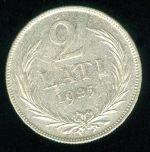 Lotyssko I republika 1918  1941 2 Lati 1925