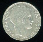 Francie III republika 1871  1941 10 Frank 1934