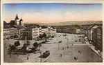 Iglau  Kaiser  Franz  Josef Platz mit Kretzel