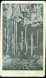 Pohled od severu na stalagmitovy lesik