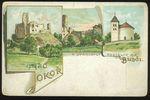Hrad Okor a starobyly kostelik na Budci