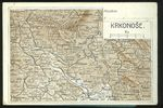 Pozdrav z Krkonos  mapa
