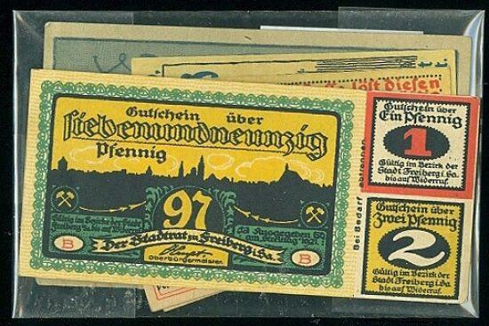 Konvolut 10 ks ruznych nouzovek  Nemecko - B7920 | antikvariat - detail bankovky