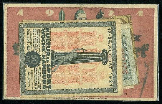 Konvolut 10 ks ruznych nouzovek  Nemecko - B7924 | antikvariat - detail bankovky
