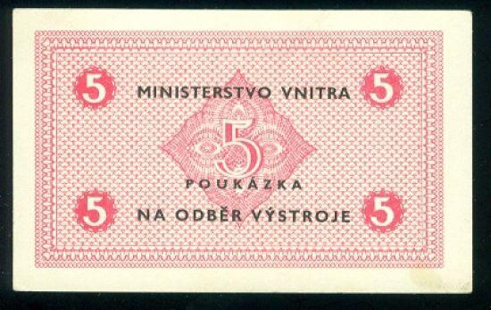 5 Koruna bl - 9507 | antikvariat - detail bankovky