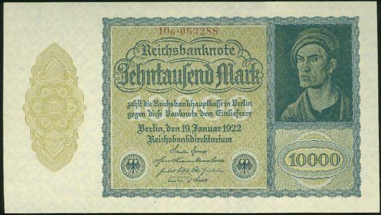 10000 Marka - 9579 | antikvariat - detail bankovky