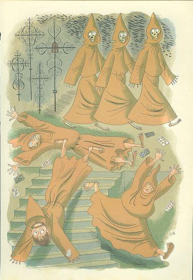 Mnisi - Bouda Cyril   antikvariat - detail grafiky