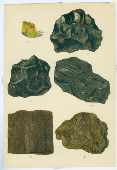 Mineralogie | antikvariat - detail grafiky