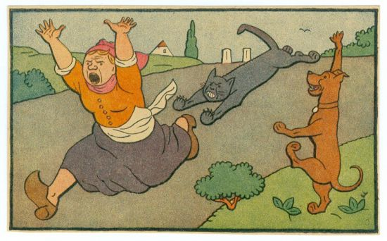 Utikej Kaco  utikej   - Lada Josef   antikvariat - detail grafiky