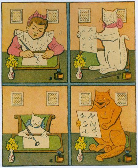 Abeceda zvirat - Lada Josef | antikvariat - detail grafiky