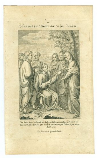 Evangelium   antikvariat - detail grafiky