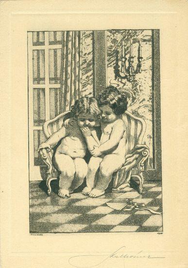 Deti - Kulhanek Stanislav | antikvariat - detail grafiky