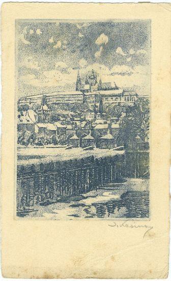 Prazsky hrad - Kozina Bohumil | antikvariat - detail grafiky