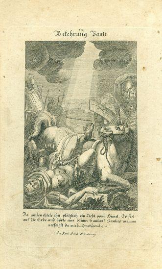 Apostol Pavel | antikvariat - detail grafiky