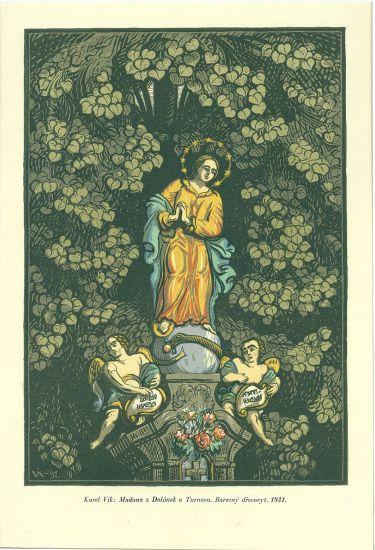 Madona z Dolanek u Turnova - Vik Karel | antikvariat - detail grafiky