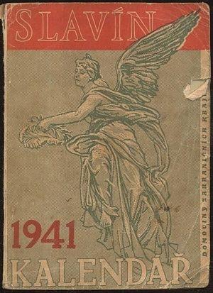 Slavin  kalendar Domoviny zahranicnich krajanu 1941 | antikvariat - detail knihy