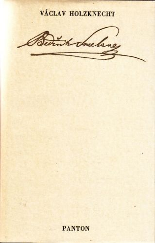 Bedrich Smetana - Holzknecht Vaclav | antikvariat - detail knihy
