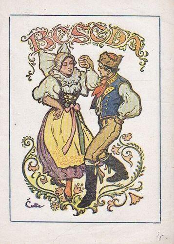 Beseda  cesky salonni tanec - Link Karel  sestavil | antikvariat - detail knihy
