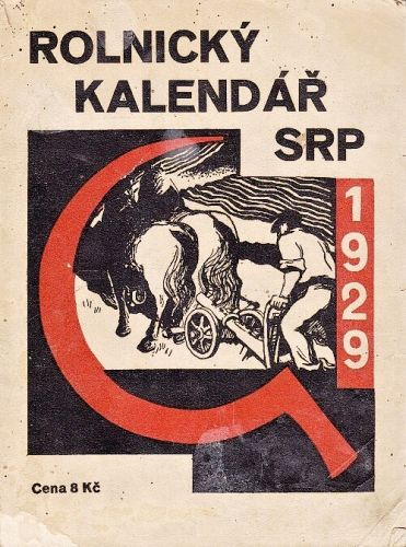Rolnicky kalendar SRP 1929 - Uridil Josef   antikvariat - detail knihy