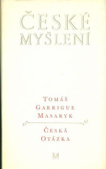 Ceska otazka - Masaryk Tomas Garrigue | antikvariat - detail knihy