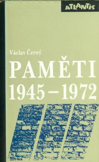 Pameti 1945  1972 - Cerny Vaclav | antikvariat - detail knihy