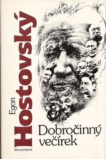 Dobrocinny vecirek - Hostovsky Egon | antikvariat - detail knihy