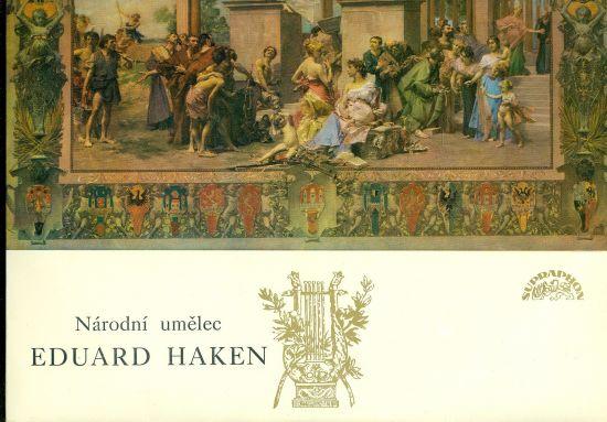 Narodni umelec Eduard Haken | antikvariat - detail knihy