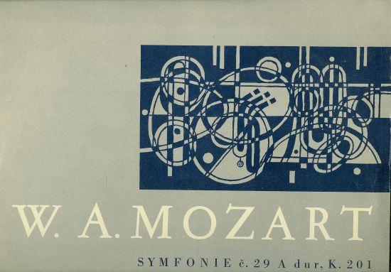 Symfonie c 29 A dur K 201 Symfonie c40 g moll K 550 - Mozart W A | antikvariat - detail knihy