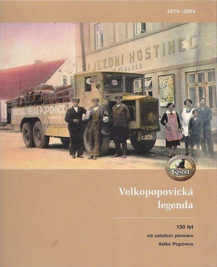 Velkopopovicka legenda  130 let od zalozeni pivovaru Velke Popovice - Cizmar Zeno | antikvariat - detail knihy
