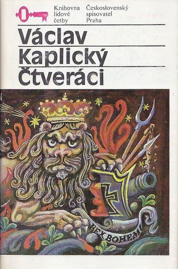 Ctveraci - Kaplan Karel   antikvariat - detail knihy