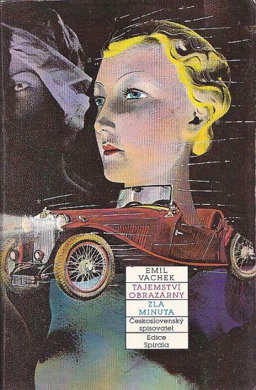 Tajemstvi obrazarny  Zla minuta - Vachek Emil   antikvariat - detail knihy