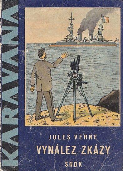 Vynalez zkazy - Verne Jules | antikvariat - detail knihy