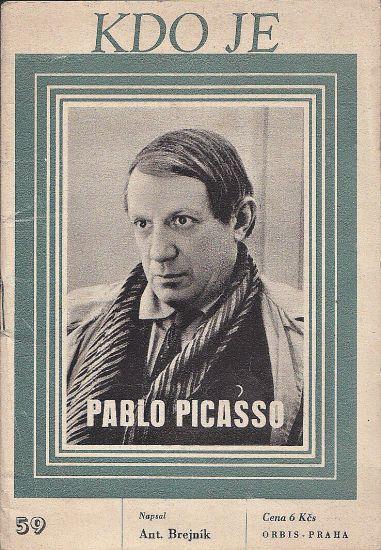 Kdo je Pablo Picasso - Brejnik Antonin   antikvariat - detail knihy