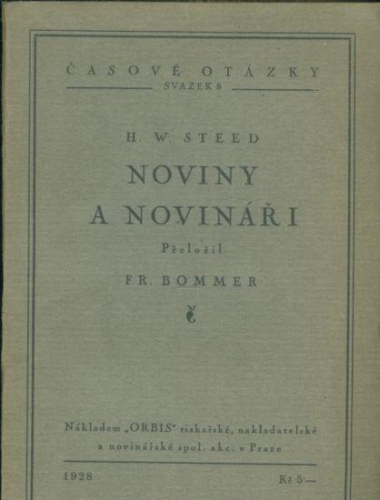 Noviny a novinari - Steed H W | antikvariat - detail knihy