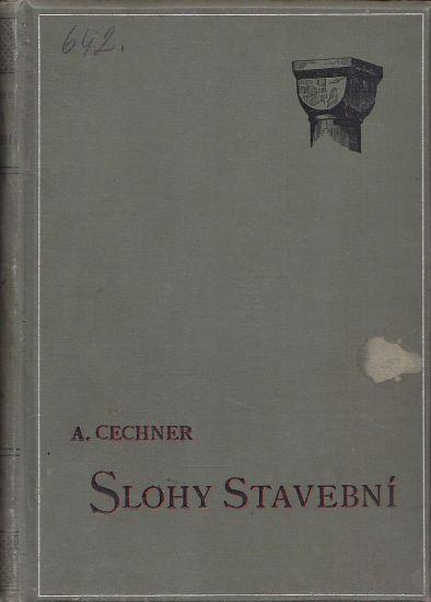 O slozich stavebnich - Cechner Antonin | antikvariat - detail knihy