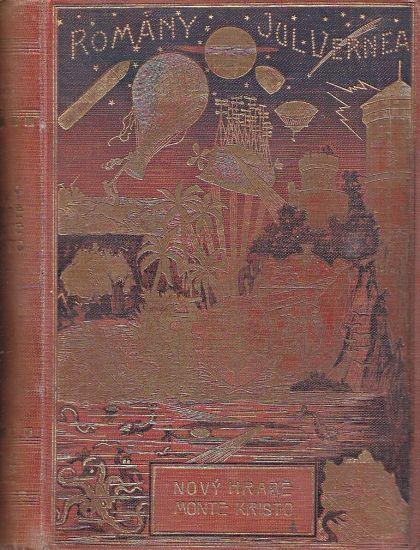Novy hrabe Monte Christo - Verne Jules   antikvariat - detail knihy