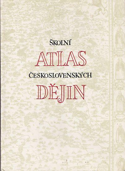 Skolni atlas ceskoslovenskych dejin | antikvariat - detail knihy
