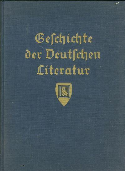 Geschichte der Deutschen Literatur von den altesten Zeiten bis zur Gegenward I - Dogt F  Koch M | antikvariat - detail knihy
