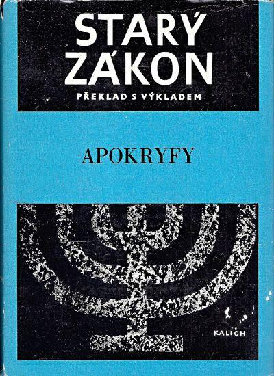 Stary zakon  Apokryfy   antikvariat - detail knihy
