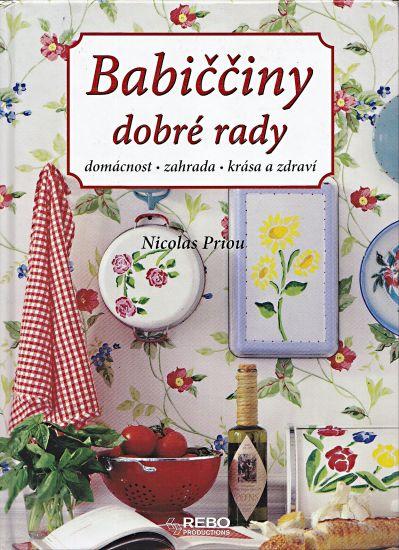 Babicciny dobre rady - Priou Nicolas | antikvariat - detail knihy